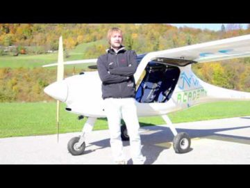 Pipistrel ALPHA Trainer spin recovery